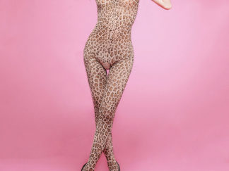 body estilo leopardo